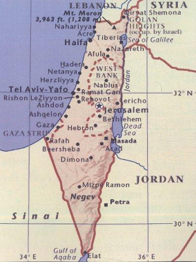 Kirche hat Israel bereits von der Landkarte gelöscht