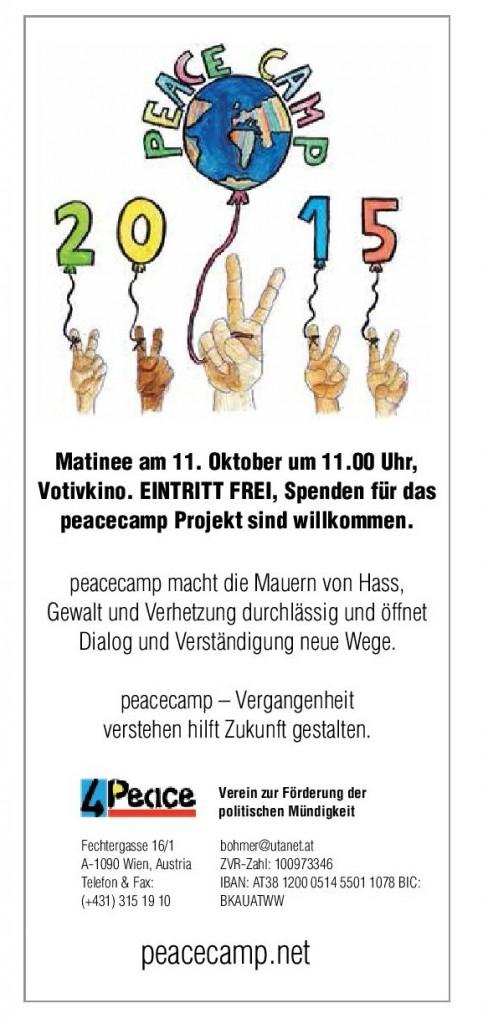 peacecamp Matinee