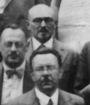 Dr. Stulz, hinten stehend, stammt vom Sozialdemokratrischen Ärztetag Ende Mai 1931 in Leipzig.