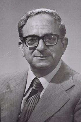 Der verstorbene 5. Präsident Israels, Yitzchak Navon (Foto: MFA)