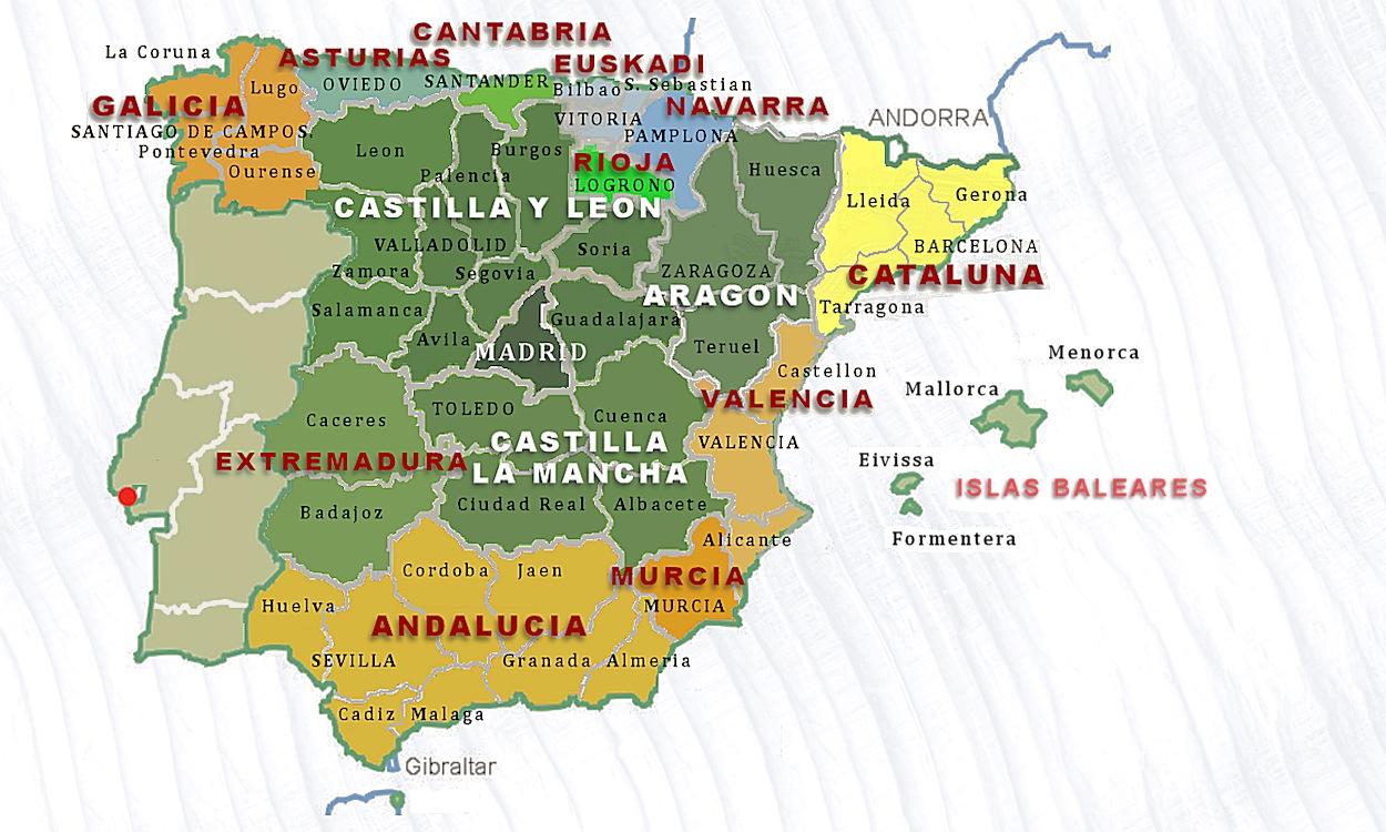 Karte Andalusien Portugal.Spanien 1492 Und Portugal 1498 Inquisition Und Vertreibung