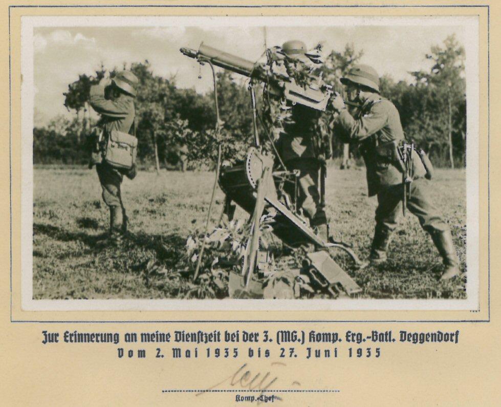 Wehrmachtssoldaten in Deggendorf
