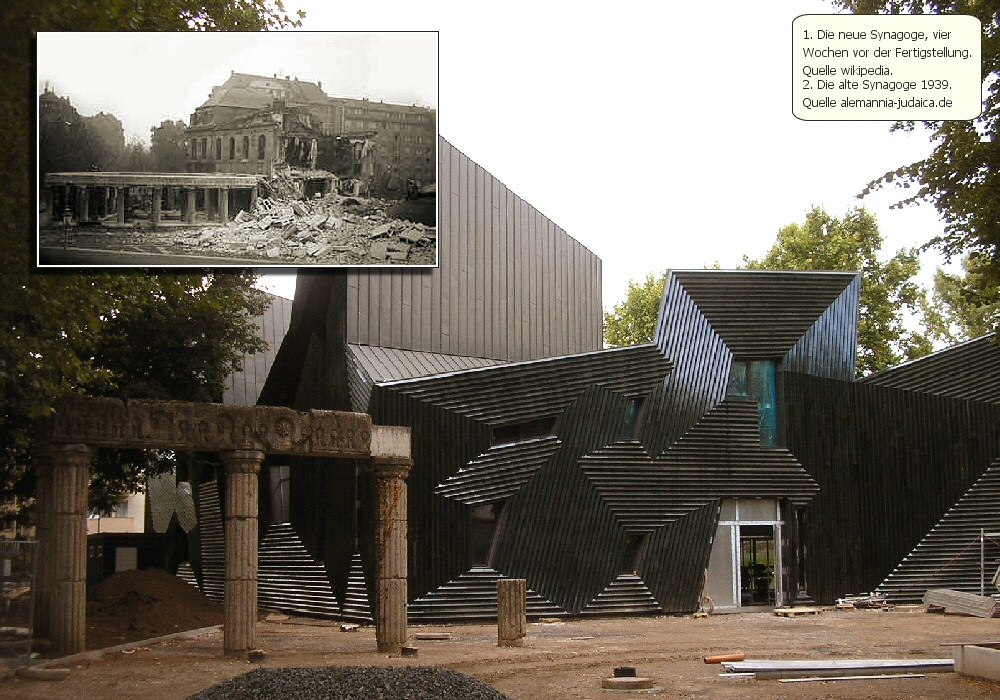 haus der heiligkeit neue synagoge in mainz steht hagalil. Black Bedroom Furniture Sets. Home Design Ideas