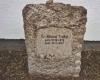 Dr. Richard Treitels Grabstein auf dem Guten Ort in Deggendorf. (Foto: S. M. Westerholz)