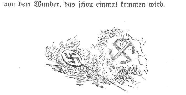"""Illustrationen von Albert Reich (Neumarkt 1881-1942 München) zu Hans Zöberleins \""""Der Befehl des Gewissens\"""""""