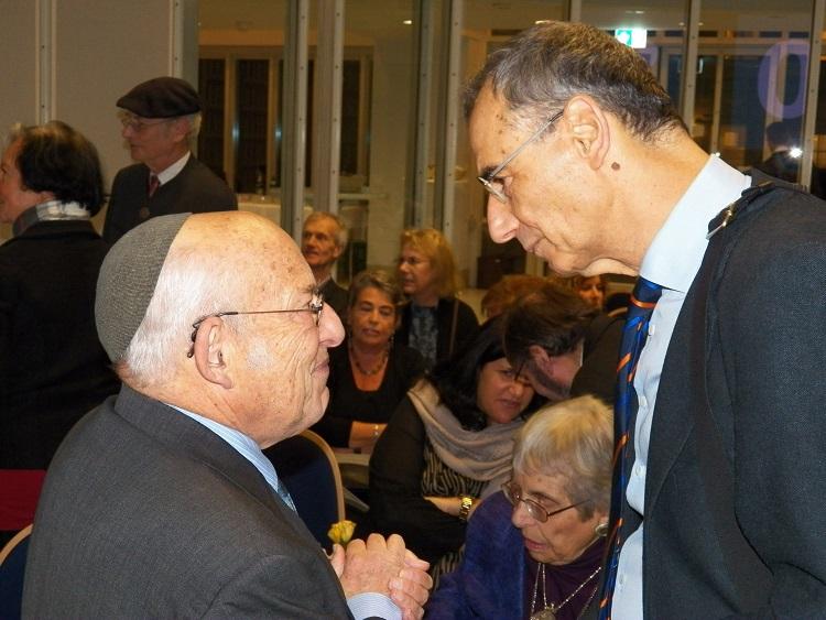 Tovia Ben Chorin im Gespräch mit Laudator Prof. Dr. Michael Wolffsohn