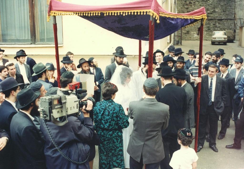Jüdische Hochzeit in Moskau, 2012, (C) Simonpor, wikipedia