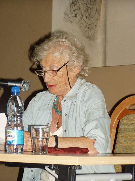 Miriam Akavia, 2008 in Krakow, (c) Sławomir Pastuszka
