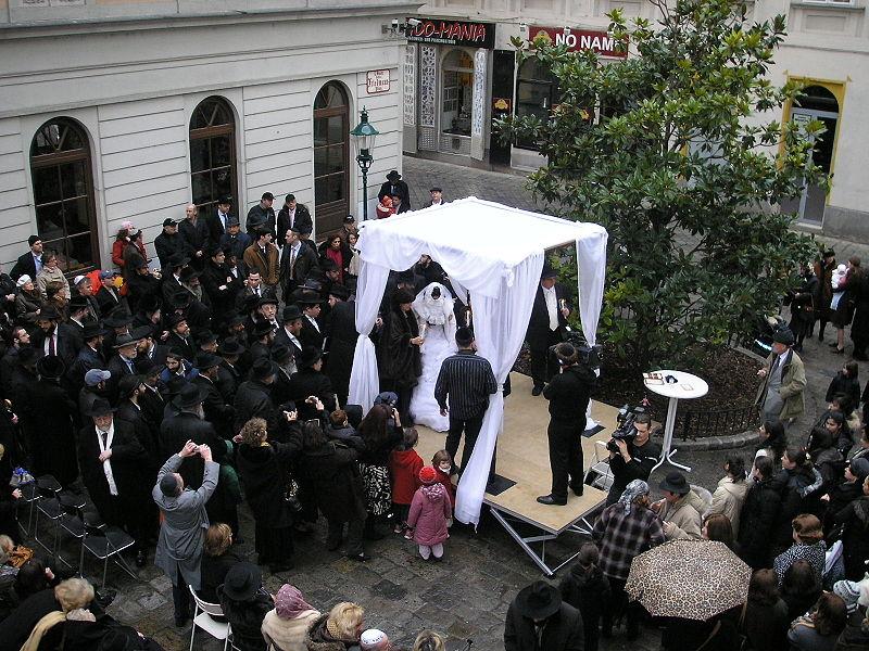 Jüdische Hochzeit, (C) Gryffindor/wikipedia