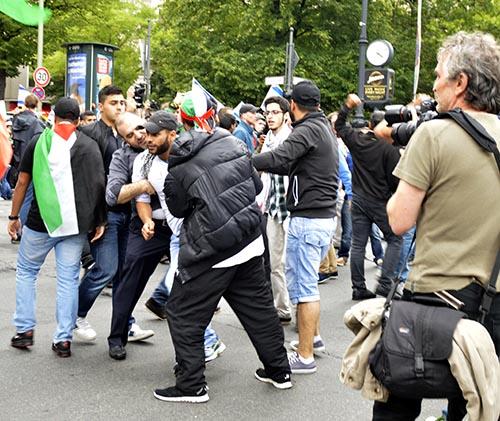 Protestkundgebung gegen Al-Quds Tag