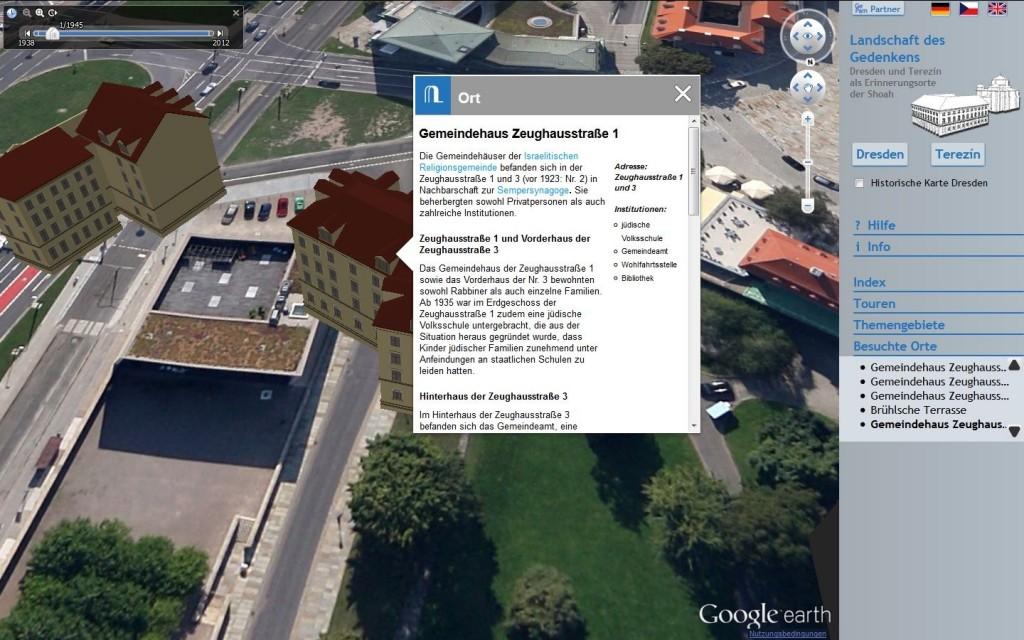 Landschaft des Gedenkens - Dresden und Terezín als Erinnerungsorte der Shoah