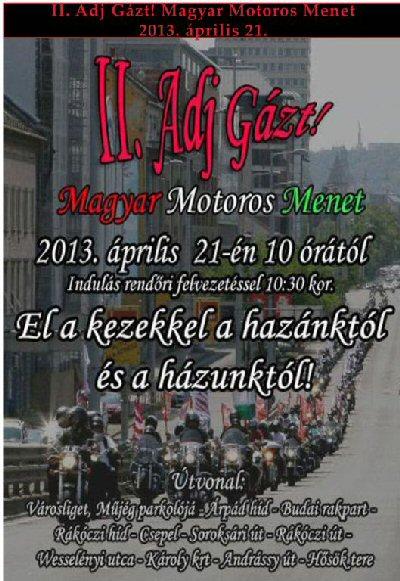 Adj gázt 2013  ápr 21