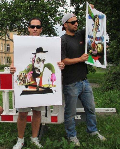 Anti-Israel-Demo Stuttgart 25.07.14