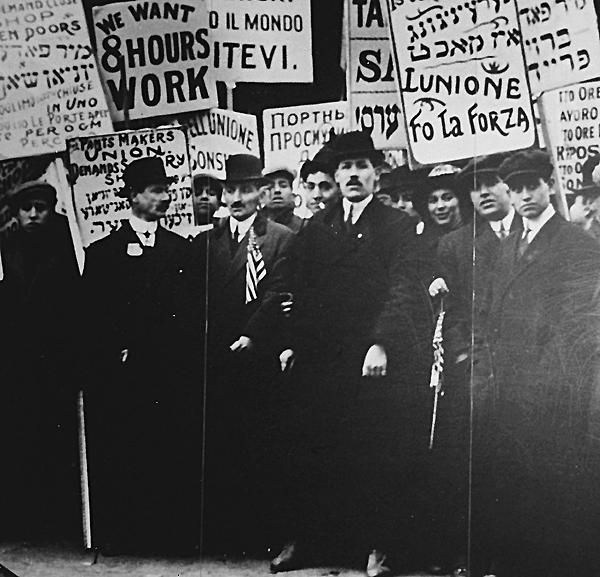 Arbeiterdemonstration