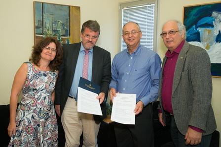 Gemeinsames Master-Programm Ben Gurion Uni und Hochschule für jüdische Studien