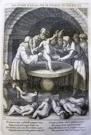 Bavaria Sancta III (1627) betreibt Ritualmordpropaganda.