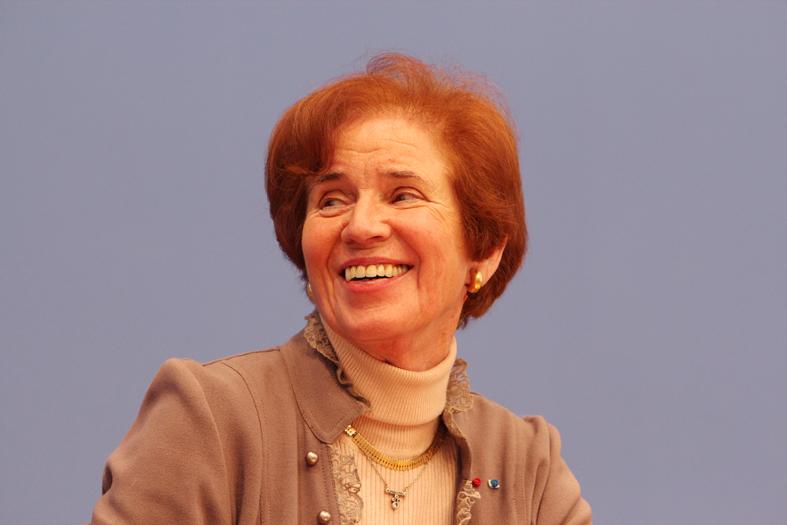 Beate Klarsfeld, 2012, (c) Fraktion DIE LINKE.im Bundestag