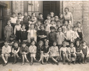 Breslau, jüdische Schulklasse 1938