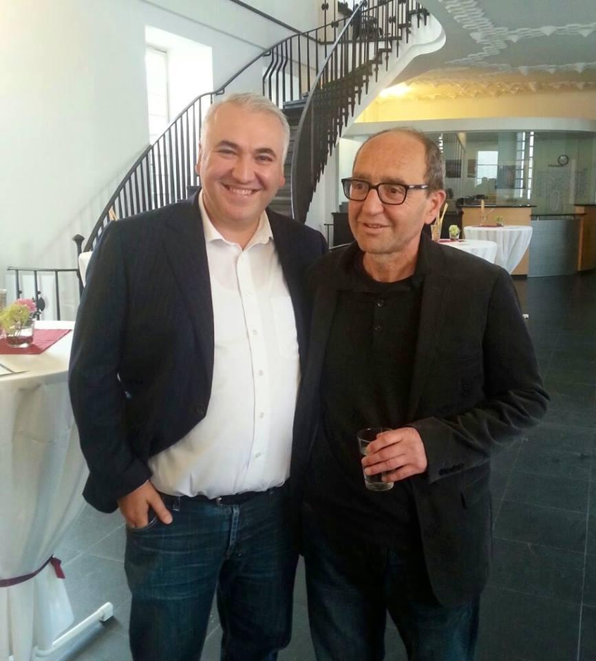 Ilias Uyar und Dogan Akhanli