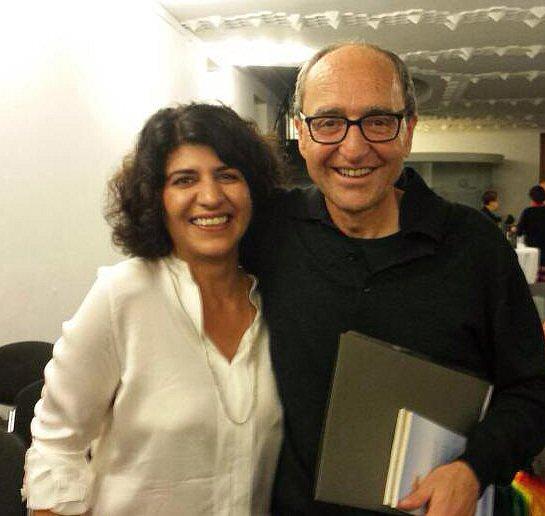 Dogan Akhanli mit der Kölner Grünen Politikerin Berivan Aymaz