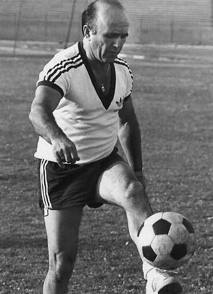 Unter dem israelischen Nationaltrainer Eddy Schaffer qualifizierte sich Israel 1970 für die FIFA Weltmeisterschaft in Mexiko. (Foto: aus dem Katalog)