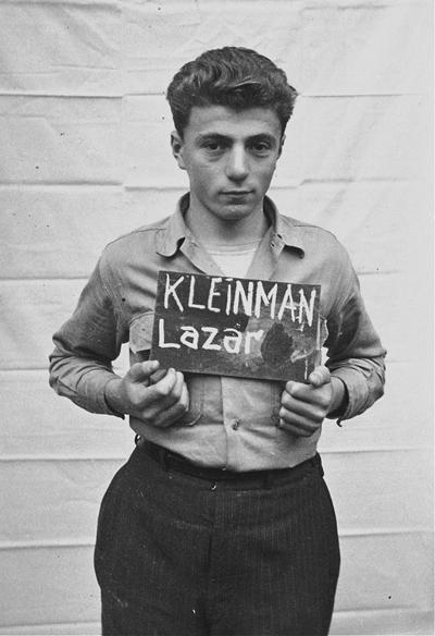 Lazar Kleinman (heute Leslie Kleinman) ist der einzige Überlebende einer zehnköpfigen jüdischen Familie aus Rumänien,Repro: ©Archiv Anna Andlauer