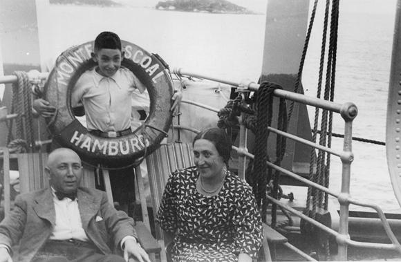 Im Januar 1937 bestieg die Familie Rosenfeld in Hamburg das Schiff nach Buenos Aires. Repro © jgt-archiv