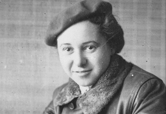 Bella Rosenkranz 1940 in Krasnaja Slaboda, Repro: jgt/nurinst-archiv