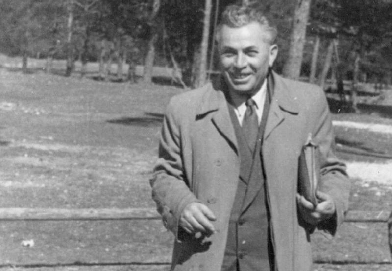 Nachum Schadmi, Oberbefehlshaber der Hagana in Europa. Repro: nurinst-archiv
