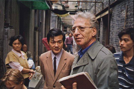Zu Besuch in seiner Geburtsstadt Shanghai – Peter Finkelgruen, Foto: aus einem Film von Dietrich Schubert