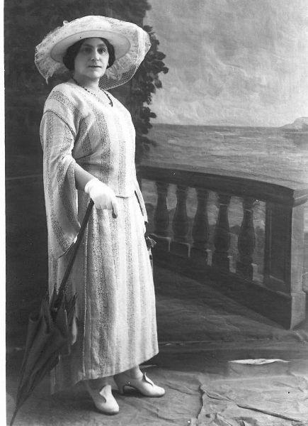 Zina Dizengoff in den 1920er Jahren