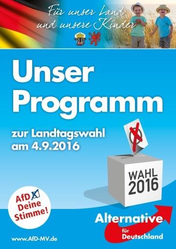 Programm der AfD Mecklenburg-Vorpommern