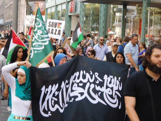 Free-Palestine-Demo in Mannheim