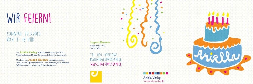 Der Ariella Verlag feiert
