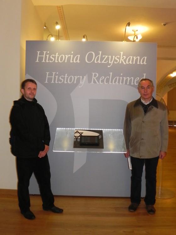 Die Initiatoren und Organisatoren der Friedhofspflege, Tomasz Soja und Andrzej Michta