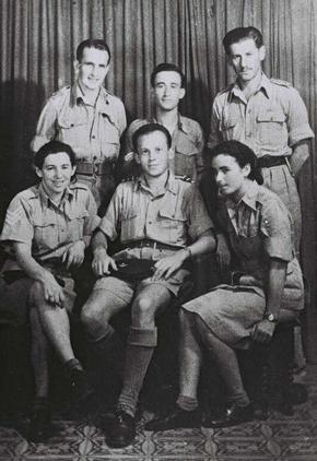 Jüdische Fallschirmspringer im Jischuw