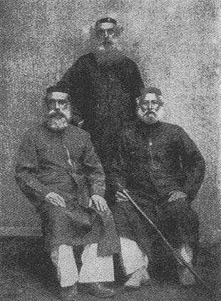 Rabbiner der weißen Juden in Cochin