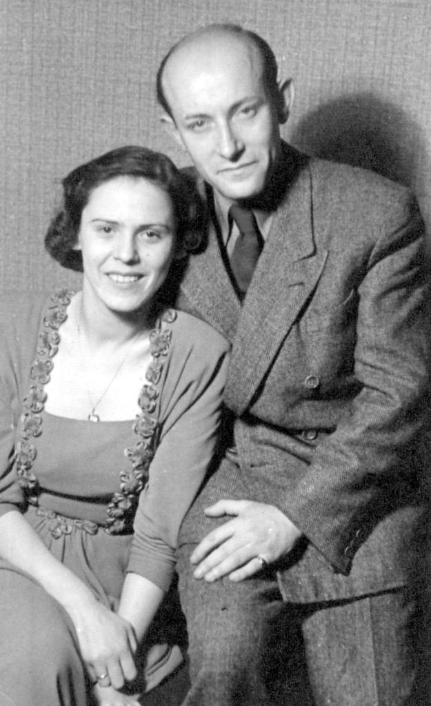 Das Ehepaar Galinski 1948