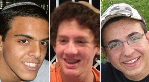 Eyal Yifrah, 19, Gil-Ad Shayer, 16, und Naftali Frenkel, 16