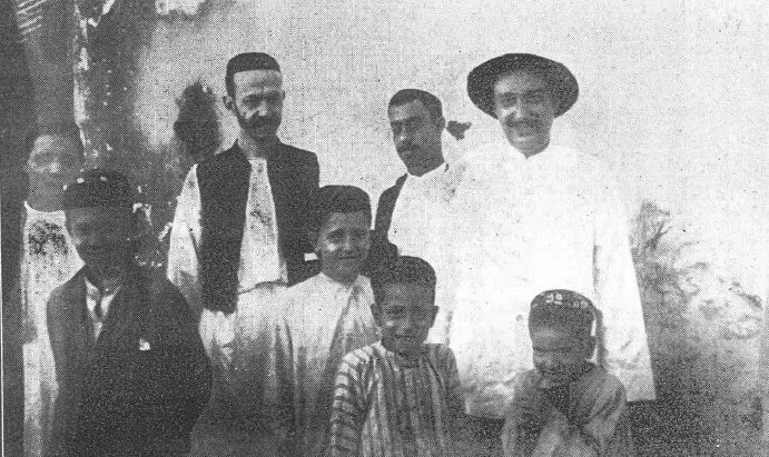 Weiße Juden in Kotschin