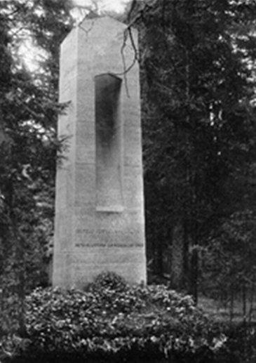 Wiederaufbau eines Gedenksteins für Gustav Landauer