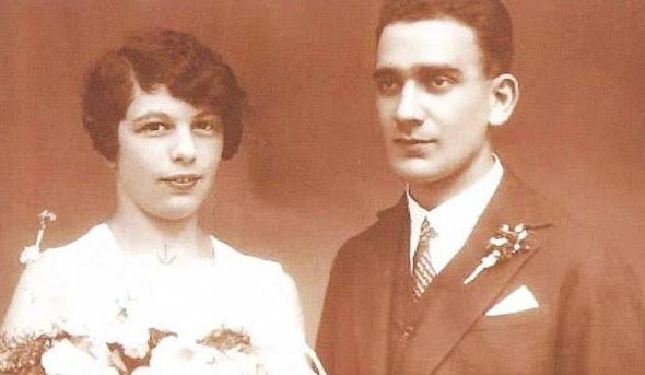 Heirat mit Fritz 1928 in Wien