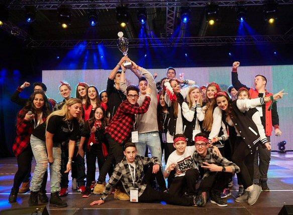 Jugendzentrum Or Chadasch Mannheim feat. JUJUBA hat die Jewrovision 2015 in KÖln gewonnen. Foto: Gregor Zielke