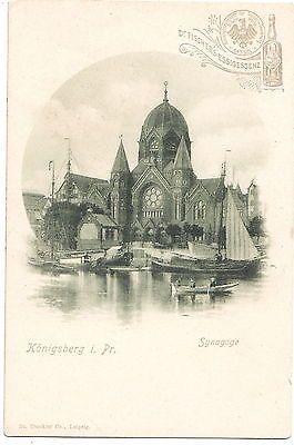 Die alte zerstörte Synagoge von Königsberg
