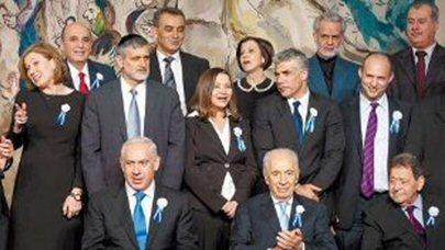 Die Fraktionsvorsitzenden der 19. Knesset