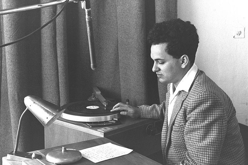 Blick ins Studio von Kol Israel (1959)
