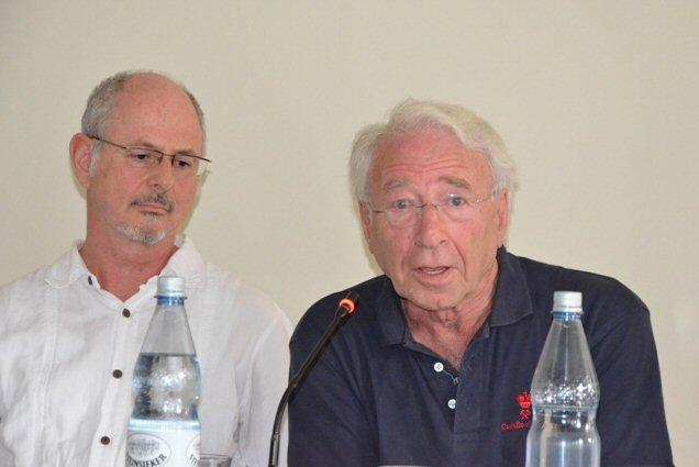 Uri Kuchinsky (l.) und Peter Finkelgruen