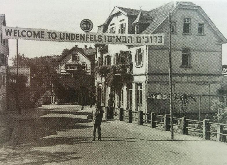 Eingang zum Children's Center Lindenfels; die Kinder waren in mehreren beschlagnahmten Hotels untergebracht. Foto: Nurinst Jahrbuch 2016