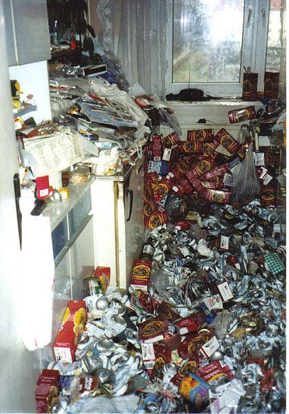 Beräumung und Desinfektion einer Müllwohnung in Dresden, © Userm1970