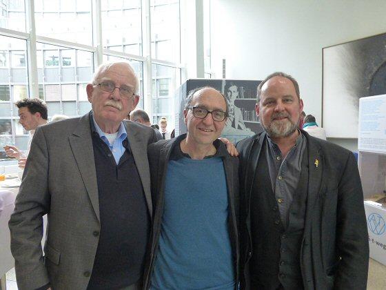 Hermann Schulz, Dogan Akhanli und Ulrich Klan